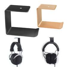 Headphone Under Desk Holder Stand Hanger Wall Mounted Earphone Headset Holder Or