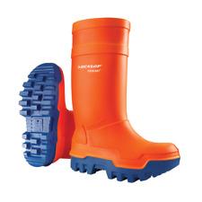 Dunlop Orange Purofort Thermo Plus Full Safety Wellies, Size 5-13, C662343