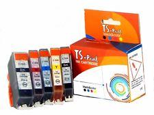 TS-PRINT SET CARTUCCE sostituisce Canon pgi-525 cli-526 XL PIXMA mg5200 mg5220