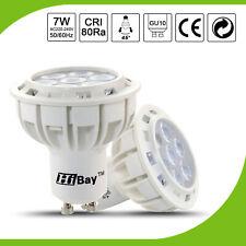 GU10 LED Bulbs SMD Spot Light Energy Saving Lamp 7W =55W Halogen Warm Cool White