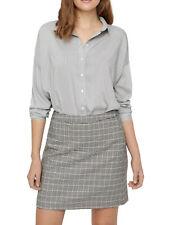 VERO MODA Damen Bluse VMErika Stripe L/S Oversize Shirt Top Hemd Tunika geknöpft