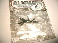 8 Allparts Humbucker Rahmenschrauben, 13mm schwarz