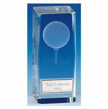 KK118 Crystal Golf Trophy