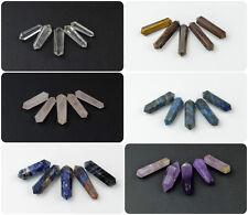 Punto de piedras preciosas de cristal DT X 1 CRISTAL CURATIVO MEDITACIÓN Varita Chakra - 1 pulgadas