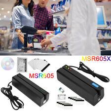 MSR605X Magnetic Stripe Card Reader Writer Encoder Credit Magstrip Swipe MSR605