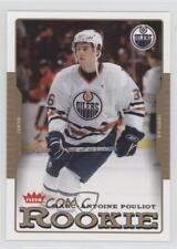 2006 Fleer Tiffany #209 Marc-Antoine Pouliot Edmonton Oilers Rookie Hockey Card