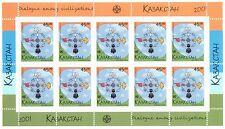 2001 Dialogue among civilizations - Kazakhstan - minisheet