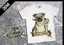 T-Shirt BULLDOG SIGARO SMOKE 2014 - TATTOO SLUB - Made in Colours