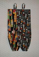Beer Design Homemade Fabric Plastic Grocery Bag Holder