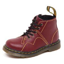 E4898 (WITHOUT BOX) anfibio bimbo red DR. MARTENS scarpe shoe boot baby kid