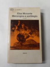 MORANTE E.  MENZOGNA E SORTILEGIO  ED.EINAUDI 1°ED.1975