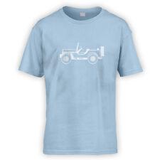 Willys mb gp kids t-shirt-x10 couleurs-overland 4x4 classic usa off road armée
