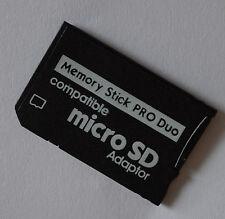 Adattatore Scheda di memoria PRODUO + MicroSD 8 16 32 64 GB PER SONY PSP