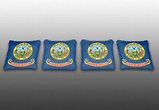 Idaho State Flag Specialty Custom Cornhole Bags - Set of 4 - Baggo - Corn Toss