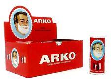 ARKO SHAVING SOAP CREAMY LATHER MOISTURISING TURKISH SOAP STICKS 75GR 1/2/3/6/12