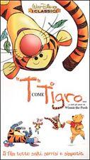 T come tigro... e tutti gli amici di Winnie the Pooh (2000) VHS Disney exnolo