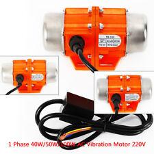 1 Phase AC Vibration Motor Vibrating Asynchronous Vibrator 40/50/100W 3000RPM