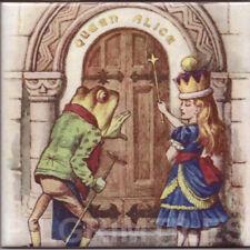 Alice in Wonderland Tiles Fireplace Kitchen Bathroom ref 25