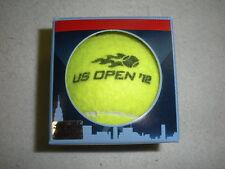 2012 Us Open Match-Used Men's and Women's Tennis Balls - Usta Serves