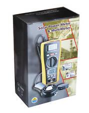 LA-1017 Sun Light  Solar Energy Sunlight Power Meter with DMM Multi-meter 2in1 !