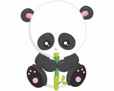 Panda mit Bambus Aufkleber Sticker Autoaufkleber Scheibenaufkleber