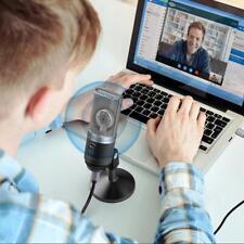FiFINE Metal USB Condenser Microphone recording For Laptop MAC Windows Studio