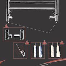 Double valve d'essence trousses de conversion pour salle de bain serviette chauffé rails radiateurs