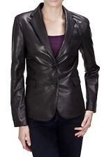 Women's Stylish Classic Genuine Lambskin Nappa Leather Blazer WB 01