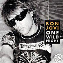 Bon Jovi One Wild Night 2 LIVE TRX UK CD Single &POSTER