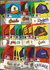 1981 Fleer Baseball stickers your choice of teams avialble