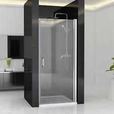 75-100 cm Nischentür Duschabtrennung Duschwand Dusche 180° Schwingtür NANO ESG Z