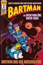Simpsons Comics Presenta: obsesión trilogía (alemán) #1,2+3 súper espectáculo