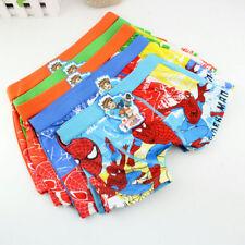 4PCS Boy underwear Spider-Man children pantie shorts kid accessories Wholesale