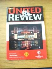 08/11/2000 Manchester United v Dynamo Kiev [European Cup] . No obvious faults, u
