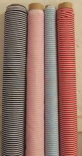 candy thin striped stripy polycotton Fabric 112cm wide fabric