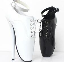 Womens Super High Heel Sexy Heelless Clubwear Stage Platform Shoes Pumps Straps