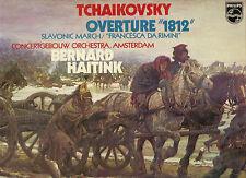 Tchaikovsky - Overture 1812 / Slavonic March, Bernard Haitink [LP vinyl Philips]