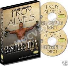 TROY ALVES Resurrection dvd - Mr Olympia - bodybuilding IFBB NPC Arizona Muscle!
