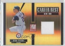2005 Donruss Elite Career Best Jerseys #CB-19 Mark Teixeira Texas Rangers Card
