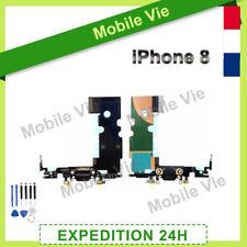 NAPPE DOCK DE CHARGE + MICRO POUR IPHONE 8 NOIR