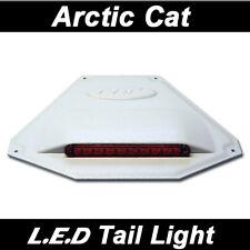 POLARIS L.E.D Universal Snowmobile Tail Light _ White Housing Red Lense