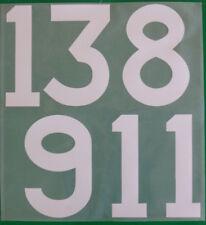 Flock Nummer number número away Trikot shirt Deutschland Germany 1966 1970