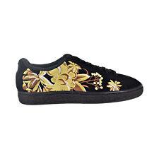 Puma Suede Hyper Emb Women's Shoes Puma Black/Puma Team Gold 368137-02