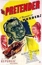 155523 The Pretender Movie l Wall Print Poster CA