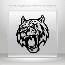 Sticker Decal Tiger Mascot Atv Bike polymeric vinyl Garage st5 ZZ9WW