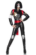 Filmfigur Suicide Samurai Samurai Kostüm Damen Fasching Karneval Komplett Set