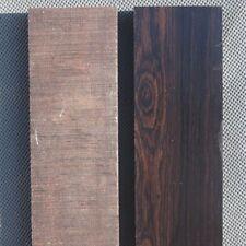 2 X Wood Knife Scale Handle Blanks DIY Knife Making Woodworking 12cm 4.7''