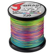 Daiwa J- Braid X8, multicolor, 1500m, rund geflochtene Angelschnur