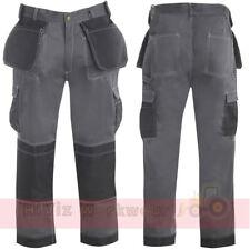 Pro trabajo trouser Tuff Pantalones Tipo Cargo Para Hombre comercio Multi Uña, Bellow & Rodilla Bolsillos