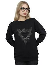 DC Comics Women's Superman Wings Logo Sweatshirt